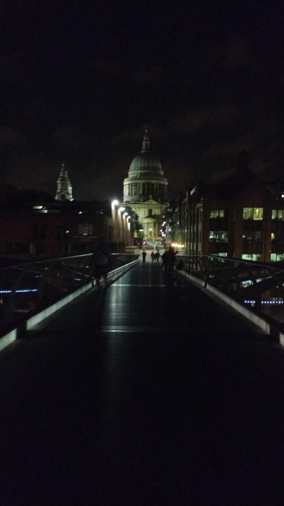 St Paul's from Millennium Bridge 2015 - 2