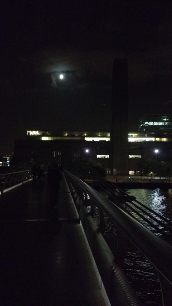 Tate Modern from Millennium Bridge 2015